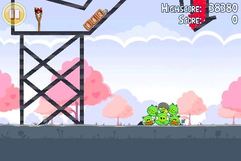 Angry Birds Seasons St Valentin Golden Egg 1