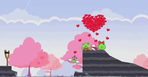 Angry Birds Seasons St Valentine Golden Egg 2