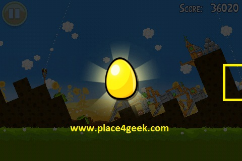Angry Birds Pignic 2ème oeuf d'or