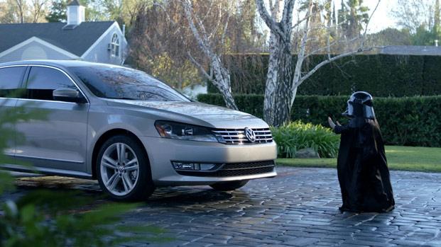 Une parodie de la publicité Volkswagen avec Dark Vador