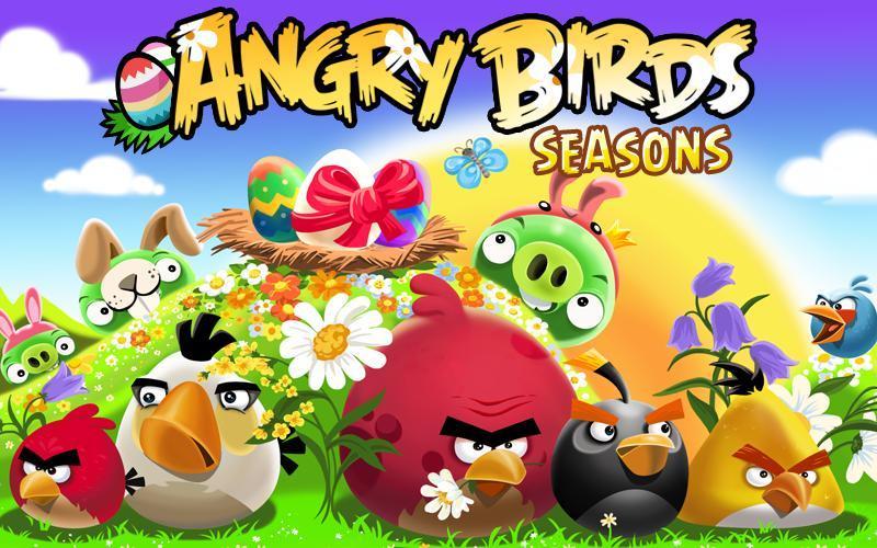 Angry Birds Seasons le guide complet pour récupérer les Golden Eggs
