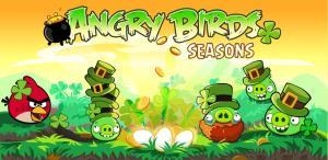 Angry Birds Saint-Patrick est disponible pour Android