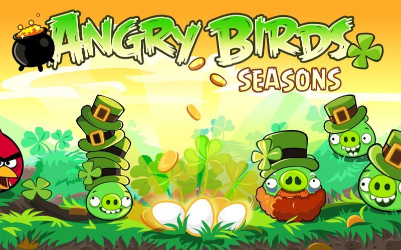 AndroidMarket : Angry Birds Saint-Patrick disponible