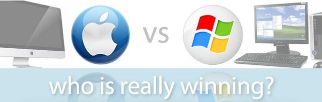Infographie : Mac contre PC