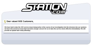 Message de Sony à ses utilisateurs concernant l'intrusion
