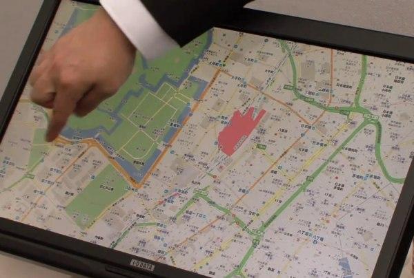 Une nouvelle technologie Flex pour les écrans tactiles