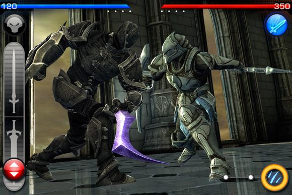 Infinity Blade propose désormais un mode multijoueur