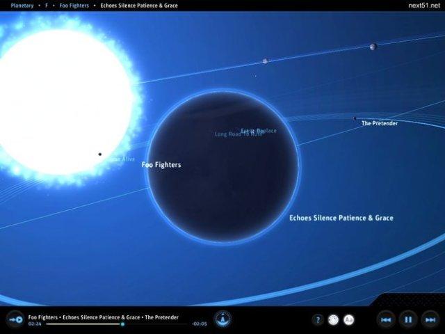 Planetary un lecteur audio pas comme les autres