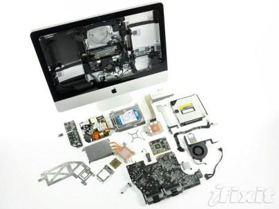 iMac 2011 décortiqué par iFixit