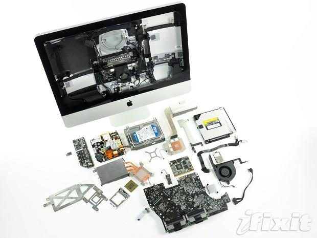 Le nouvel iMac est déjà décortiqué par iFixit