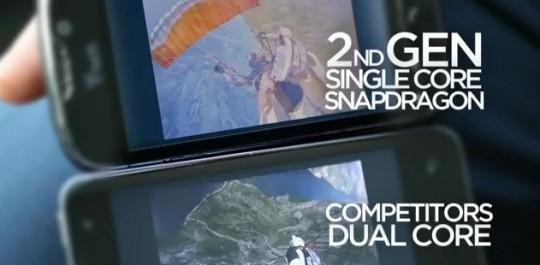 Qualcomm fait la promo de son dernier processeur : Le Snapdragon MSM8660