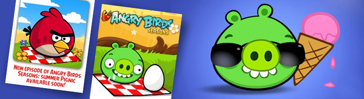 Angry Birds Seasons Summer Pignic bientôt disponible
