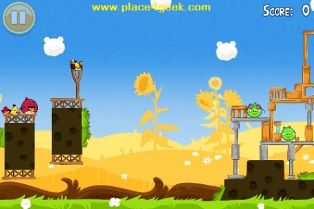 Angry Birds Seasons Summer Pignic Niveau 1