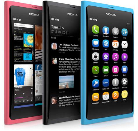 Nokia présente le N9, le premier smartphone sous Meego