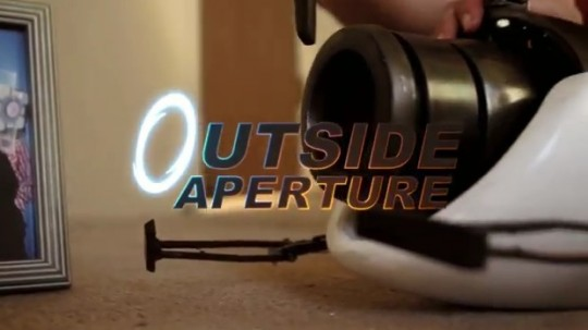 Outside Aperture un fan movie sur le jeu Portal