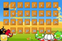 Angry Birds Seasons Summer Pignic selection niveaux
