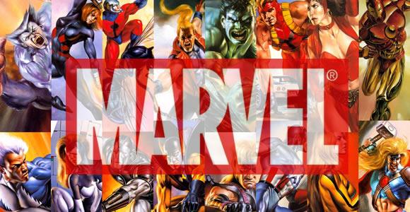 Quelques héros Marvel