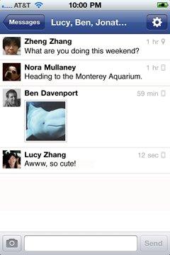 Facebook lance Facebook Messenger