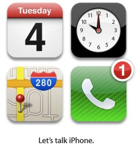 Apple confirme une keynote pour le 4 octobre l'iPhone 5 devrait être révélé
