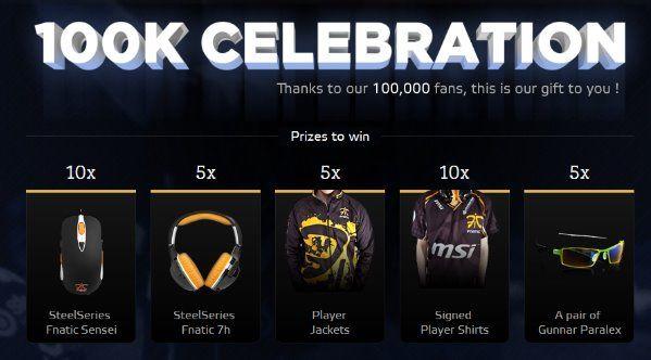 Prix 100K Fnatic