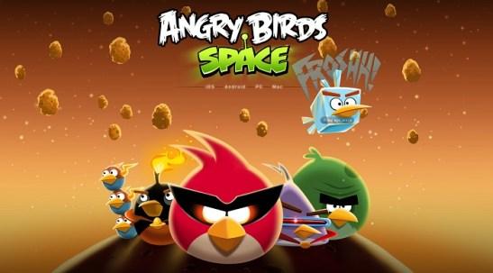 Une vidéo d'Angry Birds Space en attendant le 22 mars