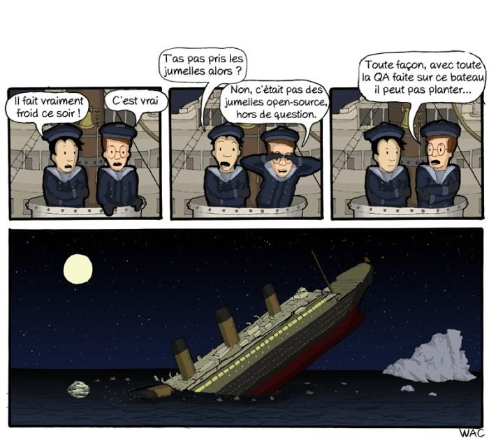 CommitStrip - Titanic