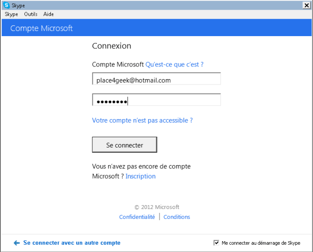 Skype Microsoft Ids