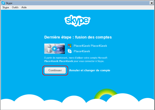 Skype fusion done