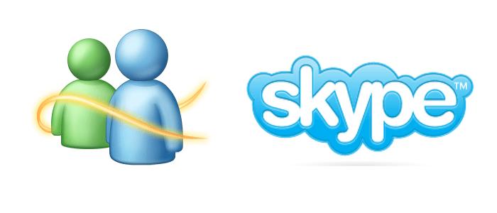 Fusionner son compte MSN et son compte Skype