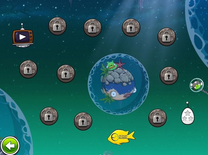 Angry Birds Space : Pig Dipper est disponible