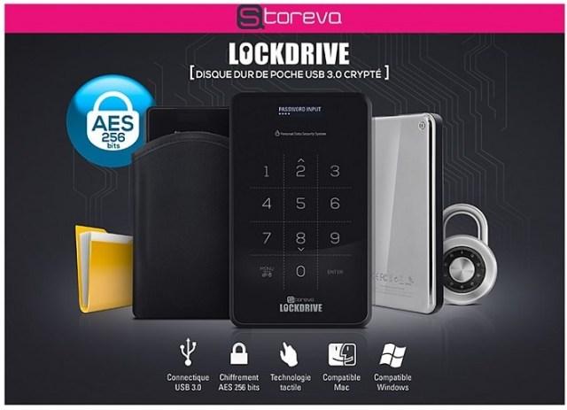 Test du Storeva Lockdrive + Concours