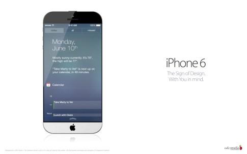 iPhone 6 : un artiste serbe propose un nouveau concept,