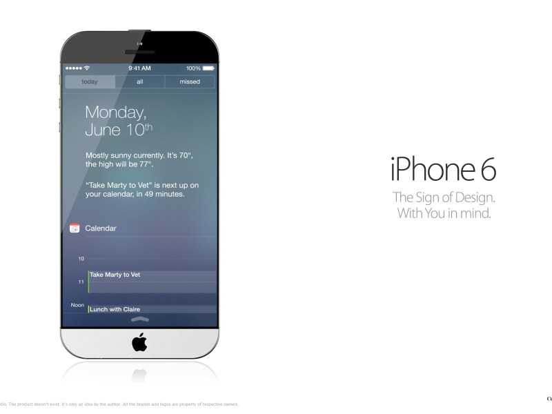 iPhone 6 : un artiste serbe propose un nouveau concept