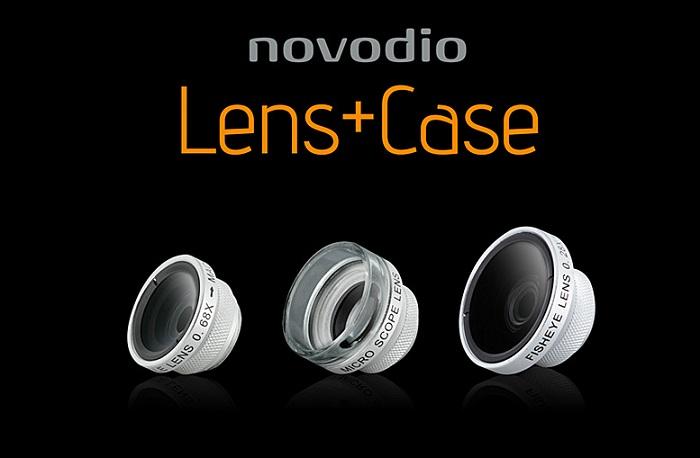 Test des coques Novodio Lens + Case avec FishEye, Wide Angle & Macro + Concours