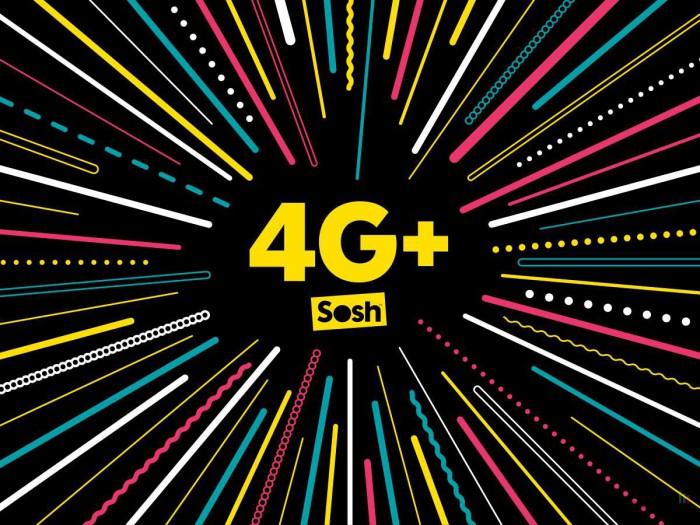Sosh : la 4G+ est désormais disponible « sans aucun surcoût » avec les forfaits 4G