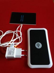 Test du Qi WIRELESS Charger une plaque de recharge sans fil + Concours
