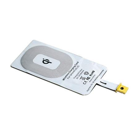 Test d'un adaptateur Qi de charge sans fil pour iPhone 5, 5S, 6 et 6 plus