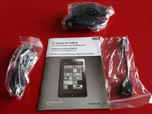Test d'une tablette IPS Windows 8.1 (Touchlet XWi8)