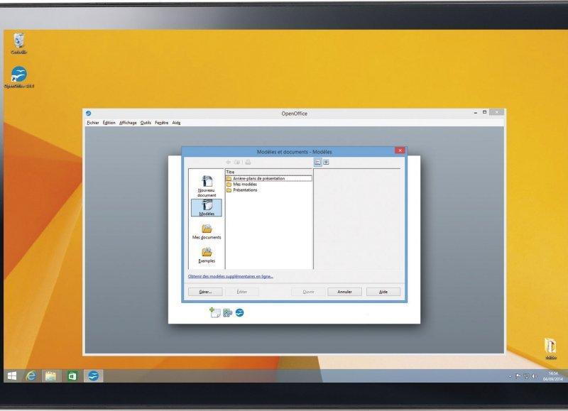 Test de la Touchlet XWi8 une tablette IPS sous Windows 8.1
