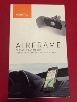 Test du support voiture Kenu Airframe