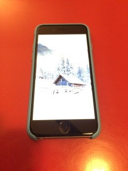 Test de la coque officielle Apple pour iPhone 6 en silicone