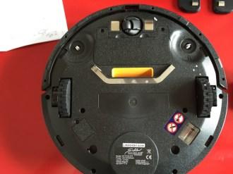 Test de l'aspirateur robot à lampe UV : PCR-3550UV