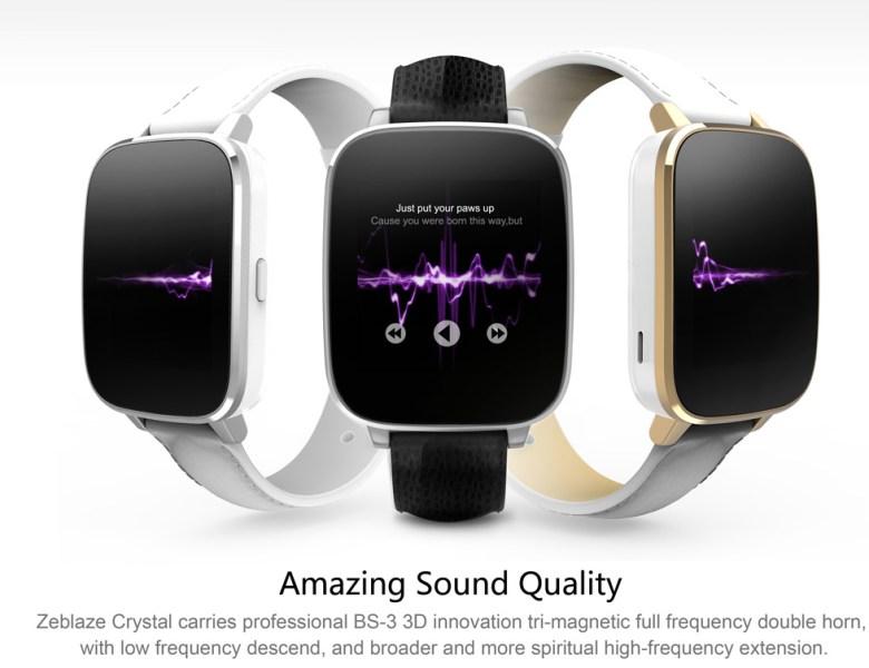 Zeblaze Crystal une montre connectée abordable
