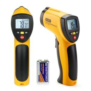 Test du thermomètre infrarouge sans contact laser IR-20 Dr.Meter