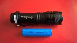 Test de la lampe torche OxyLED MD22 de 250 Lumens