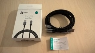 Test des câbles USB Type C d'Aukey