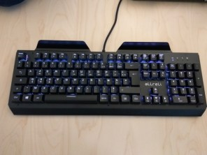 Test du clavier gaming mécanique d'aLLreLi