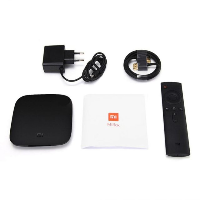 Xiaomi Mi Box - Android TV 6.0, 4K HDR, Amlogic S905X