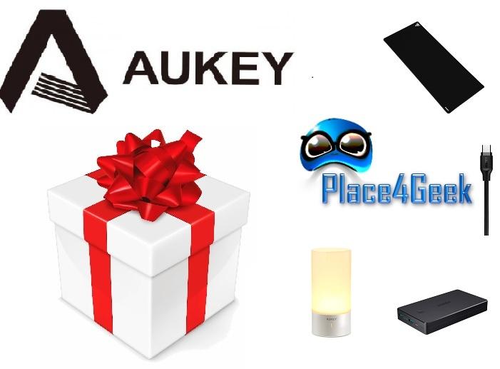 Concours noël viens tenter de gagner des produits Aukey ! [Terminé]