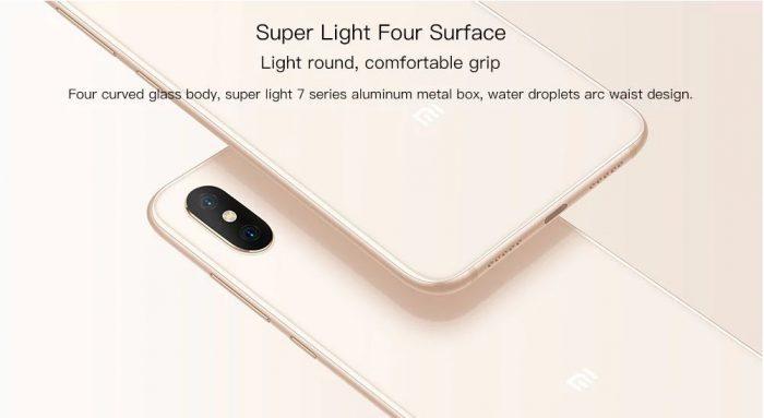 Le Xiaomi MI 8 est déjà disponible à partir de 496€